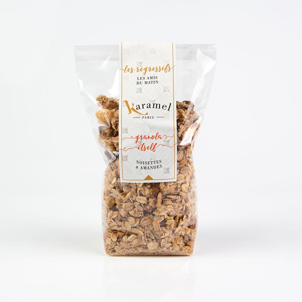 sachet granola noisettes amandes
