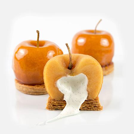 brut de Pomme, pomme façon tatin par karamel paris