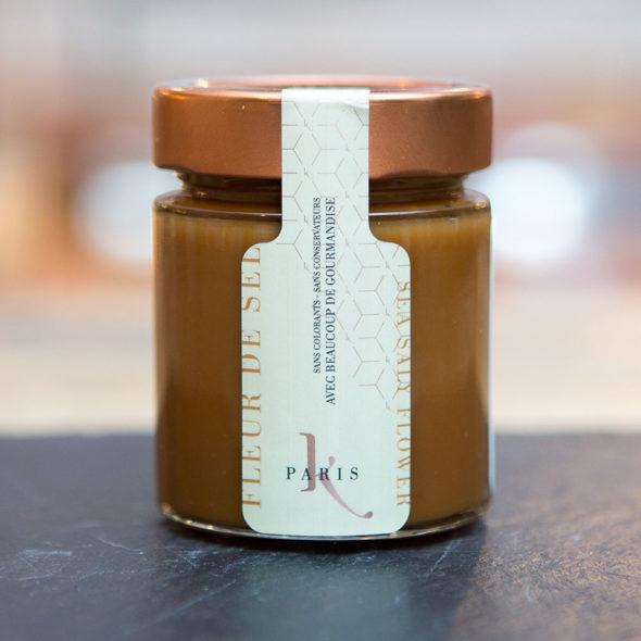 karamel a tartiner saveur fleur de sel & vanille